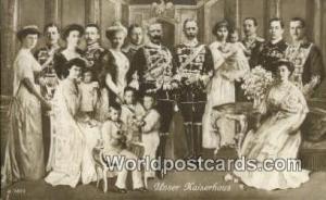 Germany, Deutschland Postcard Unser Kaiserhaus  Unser Kaiserhaus