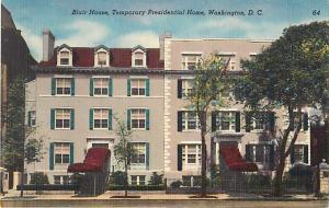 Blair House, Temporary Presidential Home Washington DC Linen