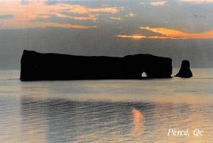 Canada Quebec Perce Rock Sunrise
