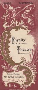 The Chili Widow Arthur Bouchier Victorian Comedy London Antique Theatre Progr...