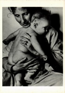 CPM NELL DORR, MOTHER AND CHILD 1940 (d1769)