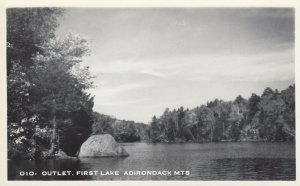 RP: ADIRONDACKS , New York, 1930-40s ; Outlet, First Lake