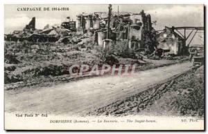 Old Postcard Dompierre Candy