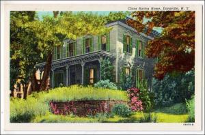 Clara Barton Home, Dansville NY