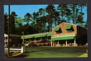 NC Beaver Lake Motel ASHEVILLE NORTH CAROLINA Postcard