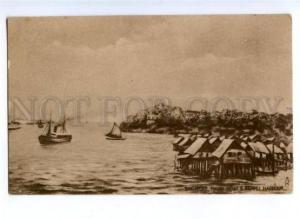 172111 SINGAPORE puloh brant & Reppel Harbour TUCK postcard