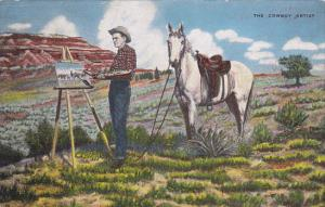 The Cowboy Artist by Cowboy Artist L H Dude Larsen