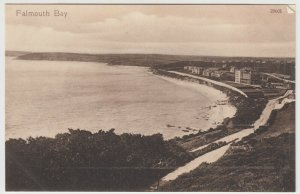 Cornwall; Falmouth Bay 29601 PPC By Valentines c 1910's, Unused
