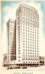 PA - Philadelphia. Hotel Adelphia