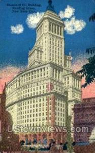 Standard Oil Bldg., Bowling Green New York City NY Unused