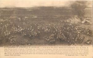 Waterloo battlefield scene
