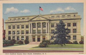 Guilford County Court House, Greensboro, North Carolina, 1930-1940s