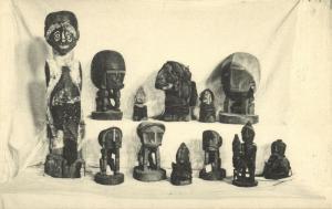 dutch new guinea, Native Papua Idols (1930s)