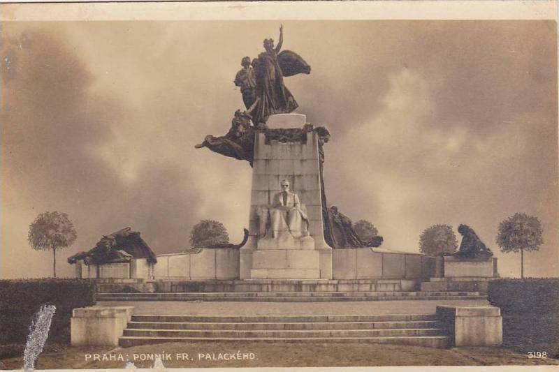RP, Pomnik Fr. Palackeho, Praha, Czech Republic, 1920-1940s