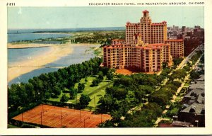 Illinois Chicago Edgewater Beach Hotel and Recreation Grounds