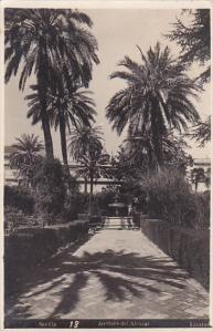 RP: Sevilla , Spain , PU-1929 ; Jardines de Alcazar
