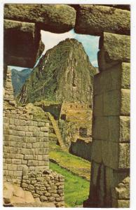Machupicchu, Window of the Snakes