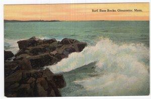 Gloucester, Mass, Surf, Bass Rocks