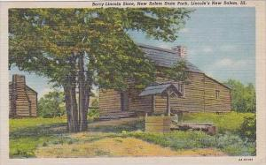 Illinois New Salem Berry Lincoln Store 1951