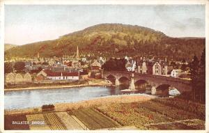 Ballater Bridge, bruecke, pont Carbo Colour Card