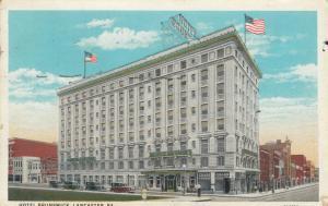 LANCASTER , Pennsylvania, 1910-30s; Hotel Brunswick
