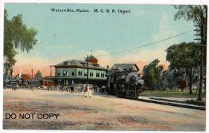 M.C.R.R. Depot, Waterville Me