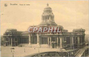 Old Postcard Brussels Palace of Justice