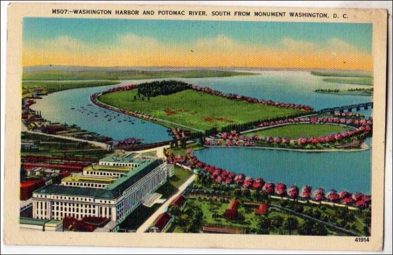 DC - Washington Harbor & Potomac River