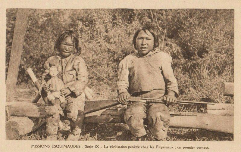 CANADA , 1910s ; Missions Esquimaudes #11
