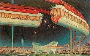 AMF Exposition Monorail New York World's Fair Dexter Postcard 20-1247