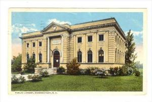 Public Library, Schenectady, New York,  PU-1917