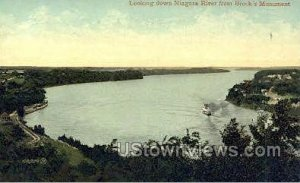 Niagara River in Niagara Falls, New York