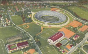 NEW HAVEN, Connecticut, 1930-40s; Yale Bowl, Sports Stadium