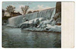 Framingham, Mass, Saxonville Dam