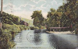 NEAR AUBURN, New York, PU-1908; On Owasco Inlet