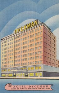 MINNEAPOLIS, Minnesota, 1930-1940's; Hotel Dyckman