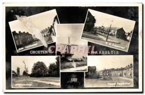 Postcard Old Croeten Maassluis Uit