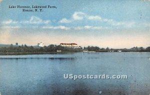 Lake Florence - Roscoe, New York