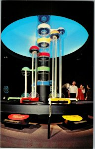 Fractionating Tower Museum of Science & Industry Chicago IL Vintage Postcard E28
