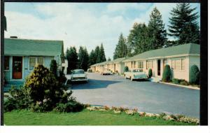 Blue Haven Motel, South Burnaby, British Columbia, Canada, 1960-70s