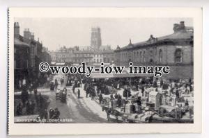 tp8973 - Market Place , Doncaster , Yorkshire - postcard