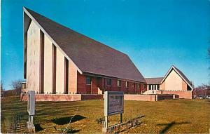 Grace Methodist Church Sioux City Iowa IA 1965 Chrome