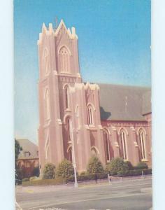 Pre-1980 CHURCH SCENE Vancouver Washington WA AD1616