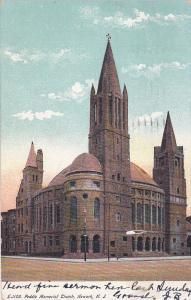 Peddie Memorial Church, Newark, New Jersey, PU-1907