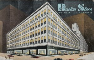 MILWAUKEE, Wisconsin, 1945 ; Boston Store