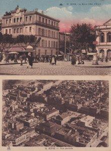 Bone Algeria Le Grand Hotel Vue Partielle 2x Old Postcard s