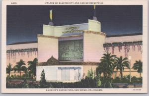 San Diego, CA., America's Exposition at San Diego, Palace of Electric & Varied I