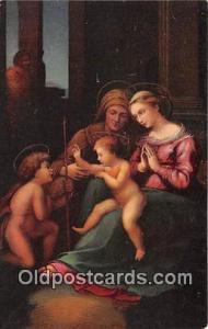 Religion Postcard  Madonna el Divino Amore