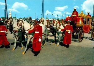 Morocco Carosse Royale de Parade Royal Ceremony Coach