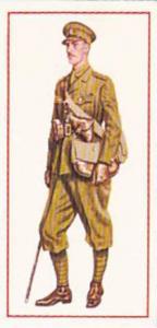 Carreras Vintage Cigarette Card Military Uniforms 1976 No 42 Subaltern 1925 G...